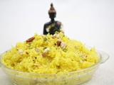 Meethe chawal / sweet yellow rice
