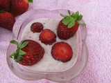 Strawberry srikhand