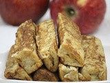 Sweet apple cinnamon french toast