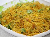 Vegetable vermicelli / vermicelli upma/ ve
