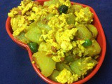 A Nutritious Side Dish Of Chayote Squash (Chow Chow)