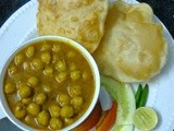 Easy Chana Bhatura Recipe/ Punjabi Chole Bhature