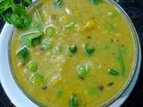 Healthy Vegetable Dal / Split Bengal Gram With Vegetables