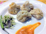 Homemade Fish Momo Recipe/Bombay- Duck Fish (Loitta Mach) Momo