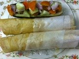 Kolkata Street Food – Egg Roll / Home Made Egg Roll
