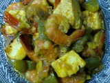 Prawn With Cottage Cheese/Chingri–Paneer Gravy