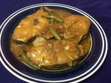 Wallago In Lemon-Garlic Sauce/ Boal Fish In Lemon-Garlic Sauce