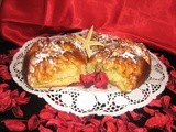 New Year's Homemade Sweet Bread