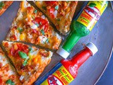 3 Meat Spicy French Bread Pizza