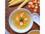 Easy Sweet Corn Soup Recipe