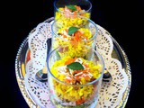 Healthy and Quick – Savory Breakfast Poha Trifle