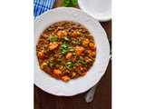 Lentil and Butternut Squash Curry Recipe : #sealtosavor