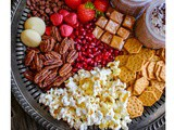 Movie Night Party Tray #santenuts #snackonsante
