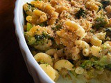 Quick and Skinny Broccoli Kale Pasta Bake – Weeknight Dinner