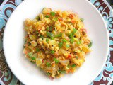 Quick and Spicy Masala Indian Scrambled Egg