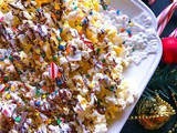 Quick Chocolate Candy Cane Popcorn – Perfect Movie Night