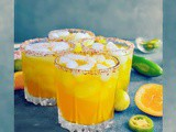 Spicy Citrus Margarita (Orange, Grapefruit & Lime)
