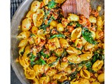 Spicy Sausage Pasta (Healthy and Stovetop Recipe)