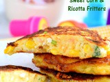 Sweet Corn and Ricotta Fritters