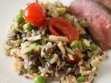 A Well-Seasoned Kitchen Cookbook Review and Giveaway: Elegant Wild Rice Salad