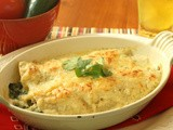 An Evening at the Rio Grande:  Spectacular Spinach Enchiladas