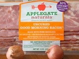 Applegate Uncured Good Morning Bacon: Creamy Bacon, Mushroom and Onion Soup