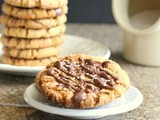 Back From Planet Pillsbury:  Salted Chocolate Peanut Butter Cookies