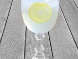 Blogging and Contesting:  Sparkling Lemon Ginger Cooler and a Cooking Contest Central Membership Giveaway