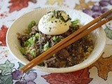 Food Truck Road Trip Cookbook Review and Giveaway: Loco Moco Mazemen (Beef Ramen with Miso Gravy)