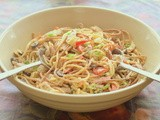 My Guest Post at Cheap Recipe Blog:  Chicken and Spaghetti Salad