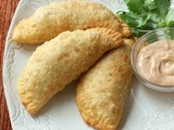 Omni Hotels' Simply Street Food:  Duck Empanadas with Smoked Tomato Mayo