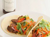 Saucy Mama Blogger Recipe Contest 2015: Asian Fusion Steak Tacos With Ribbon Slaw and Sriracha Mayo