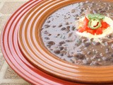 Something from Nothing #1:  Easy Black Bean Soup