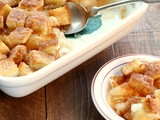 Something from Nothing:  Apple Bread and Butter Pudding