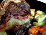 The Perfect, Easy, Roast Beef … with Bacon