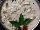 Ash Gourd Gravy with Coconut Paste and Curd