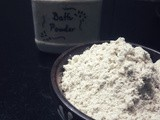 Bath Powder - Natural, Healthy and Simple