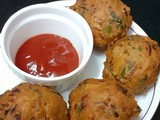 Besan / Gramflour Bonda - Quick Evening Snack