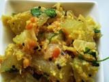 Chow-Chow Poriyal / Chayote Curry