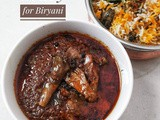 Flavourful Brinjal Gravy - Complements any Biryani