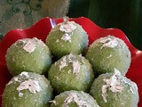 Paan-Coconut Laddu - For this Deepavali