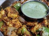 Paneer Tikka - Pan Made with a Smoky Touch