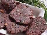 Ragi Vadai - Deep Fried  Ragi Adai  - Another Quick Snack
