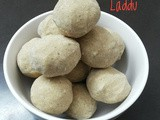 Udacha Kadalai Laddu / Fried Gram Laddu