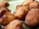 Balehanni muluka(Mulka)/ Deep fried Banana/pear and Rice flour Sweet