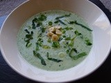 Chilled Honeydew, Cucumber and Mint Soup