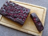 Chocolate, Raspberry and Black Bean Loaf