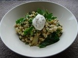 Fennel and Kale Pearl Barley Risotto
