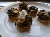 Festive Stuffed Mushrooms