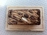 Fig, pear, oat and ginger loaf